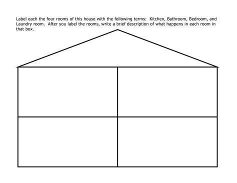 best photos of preschool house template my family in best photos of preschool house template my family in
