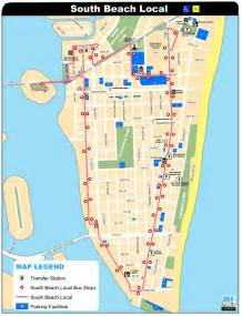 Miami South Beach Map by Gallery For Gt South Beach Map