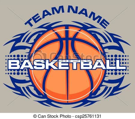 team name tribal basketball design vectors search clip