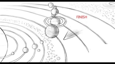 How To Draw Solar System how to draw the solar system