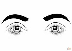 coloring pages of two eyes eye coloring page cartoon eyes coloring page