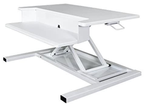 airrise pro standing desk converter sit stand desktop workstations sit stand desk conversion