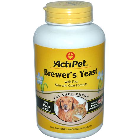 Brewers Yeast For Cats - actipet brewer s yeast for dogs cats beef