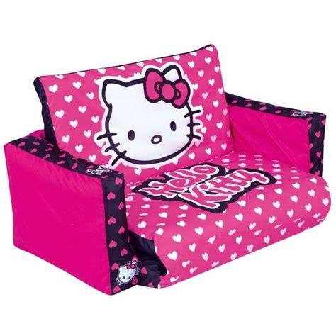 hello kitty sofa set hello kitty tween flip out sofa 47 liked on polyvore