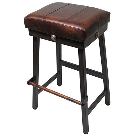 Wrought Iron Bar Stools With Leather Seats by Bar Stools With Padded Seats Droughtrelief Org