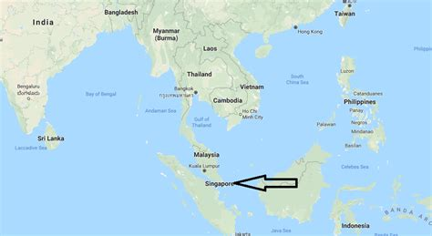 where is on the map where is singapore located on the world map where is map