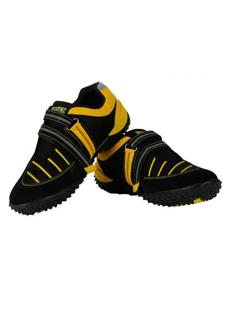 Sport Shoes Black Yellow 56125 vostro black yellow sports shoes for vss0231