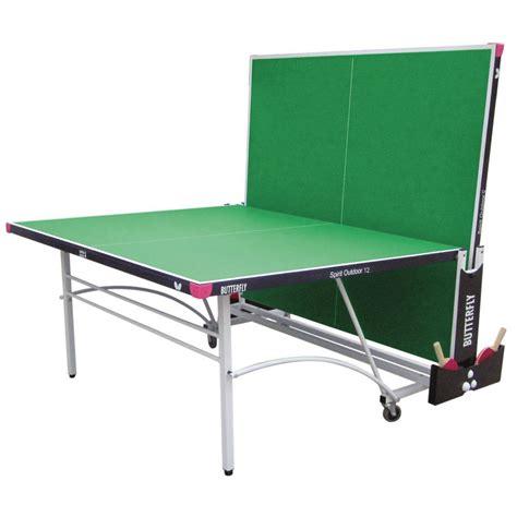 butterfly outdoor rollaway table tennis butterfly spirit 12 rollaway outdoor table tennis table