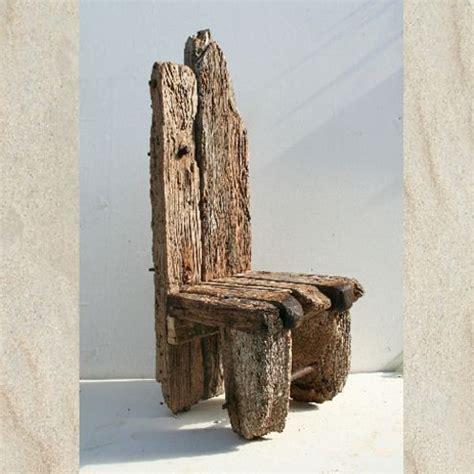 driftwood chair chunky garden indoor chair drift wood
