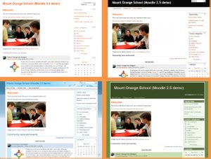 moodle theme not updating features tour moodledocs