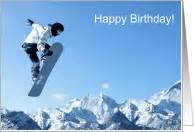 snow skiing birthday cards from greeting card universe