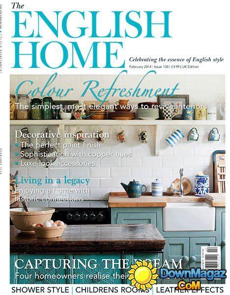 design magazine english the english home magazine february 2014 187 download pdf