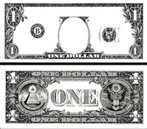 dollar bill template for teachers the marisa collection february 2010