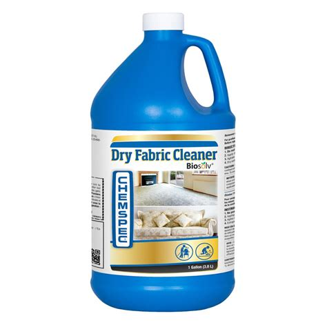 best cleaner for upholstery fabric chemspec c dfc4g dry fabric cleaner 4 1 gallon case half