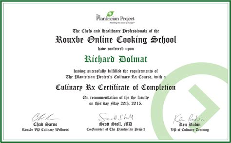 3 Rouxbe Cooking School Online Course Egift Certificate Coupon Code May 30 2017 - online video cooking school