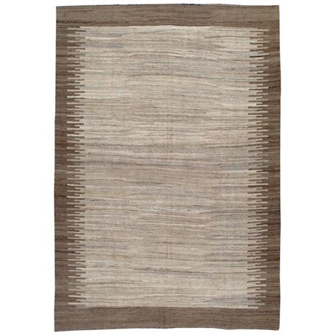 Modern Turkish Flat Weave Kilim Rug For Sale At 1stdibs Modern Flat Weave Rugs