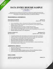 data entry resume digg3