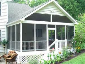 Screen Porch Designs For Houses by Baltimore Screen Porches Anne Arundel County Maryland Md