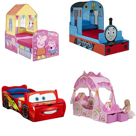 character beds character and disney feature toddler junior beds