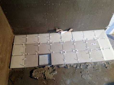 piatto doccia piastrelle foto costruzione piatto doccia con piastrelle di zappino