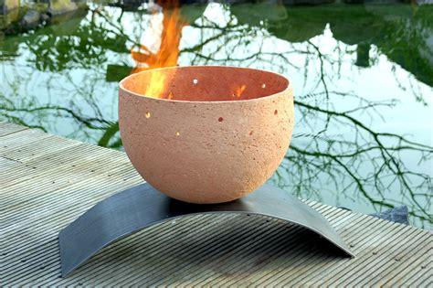 feuerschale terracotta feuerschale vesuv seebach keramik