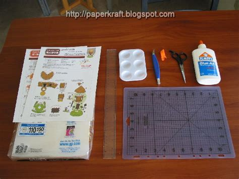 Paper Crafting Tools - paper craft tools paperkraft net free papercraft