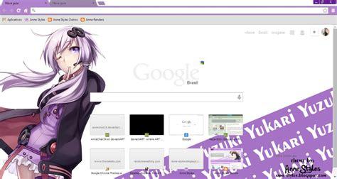 theme google chrome vocaloid vocalova tag yuzuki yukari