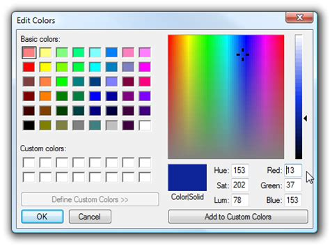 stupid tricks figure out html color codes from decimal rgb colors like ms paint uses