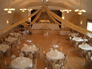 reception banquet halls banquet decorated for a wedding reception gallery view