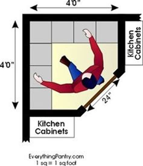 Kitchen Corner Pantry Dimensions by 1000 Images About Corner Pantry On Pantry