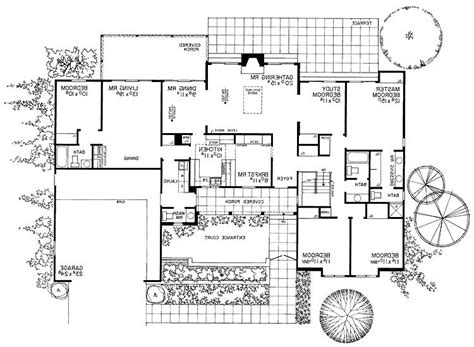 crandall cliff one story home plan 013d 0130 house plans one storey house plans with photos