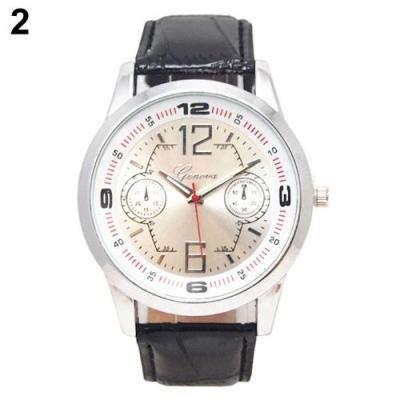 Geneva Jam Tangan Wanita Analog Quartz Wrist Brown harga norate s geneva faux leather band quartz analog wrist white