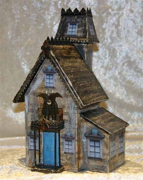 How To Make A Paper Haunted House - haunted house spooky ideas