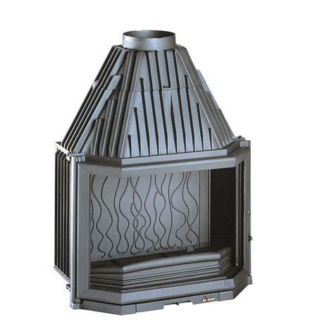 Foyer 700 14kw En Fonte Invicta by Invicta Fireplaces Prismatic 700 Side 70 Cm