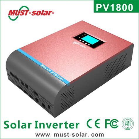 Inverter Must must pv1800 solar inverter for home solar systems solar
