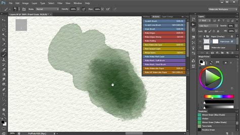 watercolor tutorial after effects 4 watercolor painting in photoshop how to achieve