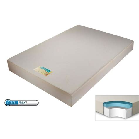 4ft Memory Foam Mattress by Sleep Coolmax 500 4ft Small Memory Foam Mattress