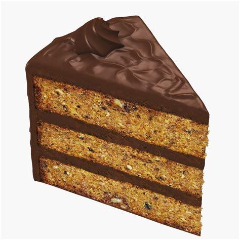 3 slice cake slice cake 3d model