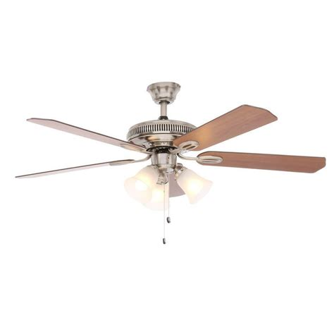 ceiling fan parts glendale 52 in brushed nickel ceiling fan replacement