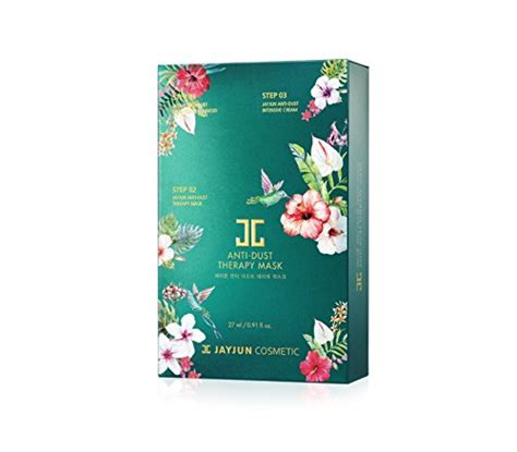 Jayjun Anti Dust Whitening Mask jayjun anti dust whitening mask 3 step 10ea