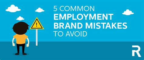 Top Ten Branding Mistakes To 5 Common Employment Branding Mistakes To Avoid