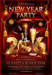 new year templates 25 new year flyer templates 2016 free psd eps