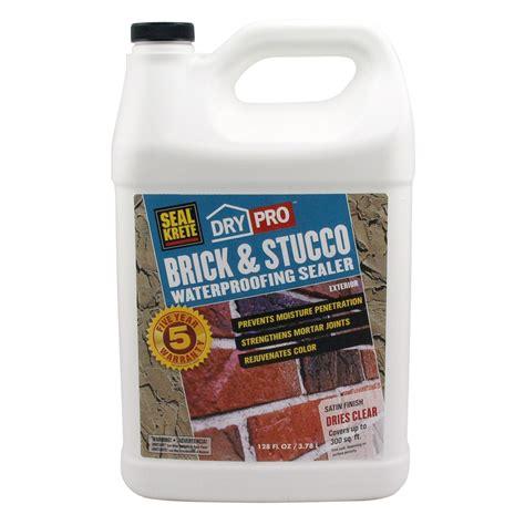 Is Exterior Paint Waterproof - shop seal krete brick amp stucco waterproofing sealer gallon at lowes com