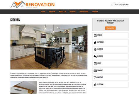 renovation theme renovation wordpress theme template for the renovation