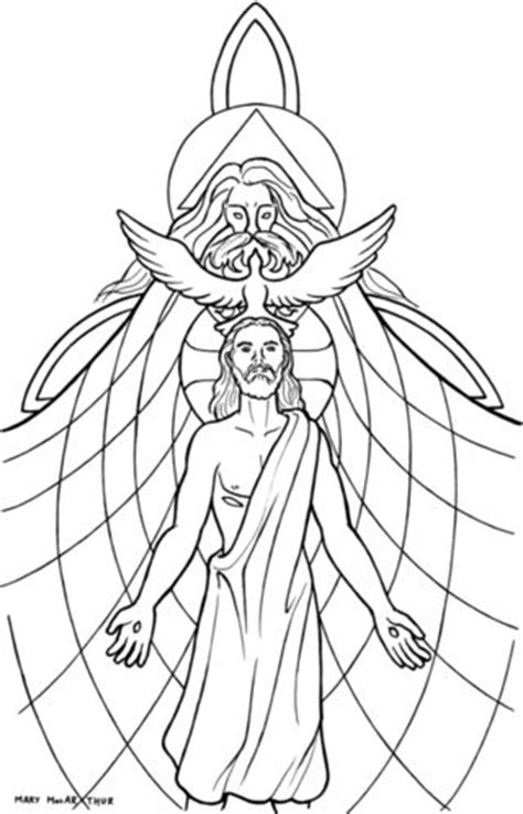 holy trinity catholic coloring page catholic coloring
