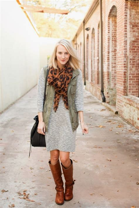 5 Ways To Look Beautiful In Boots by Best Ways To Wear A Shift Dress Without Looking Frumpy