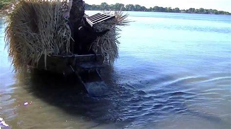 duck boat dog ladder duck boat dog ladder swarm waterfowl co youtube