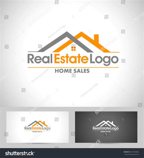 business card logo design template real estate logo design creative abstract stock vector
