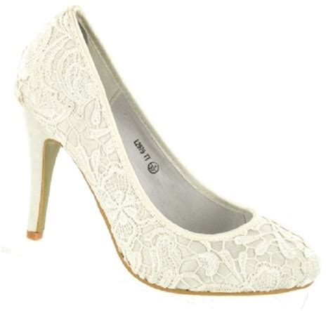 Wedding Shoes Ivory Lace ivory vintage lace wedding shoes with rounded toes