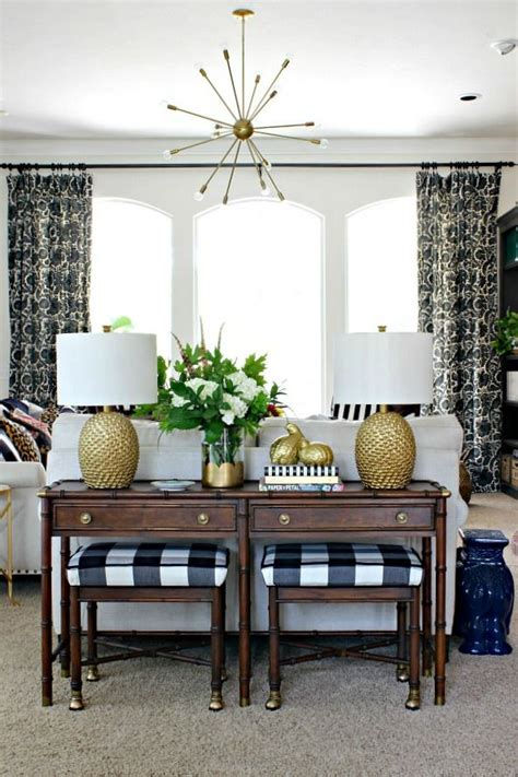 sofa table with ls 25 best ideas about sofa table styling on diy